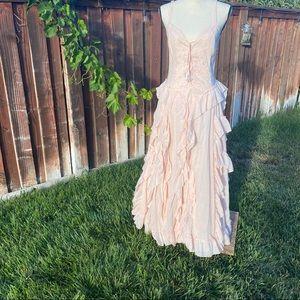 VENUS Baby Pink Ruffle Dress Size M